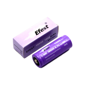 Efest IMR 18500 1000mAh with button top