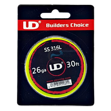 UD SS316 wire 26ga, diameter 0,4mm and length 10m