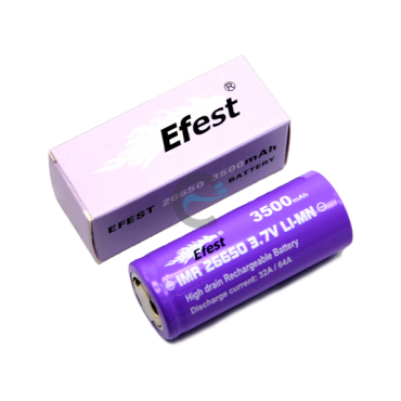 Efest IMR 26650 3500mAh with flat top