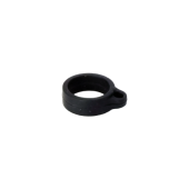 Rubber ring for lanyard