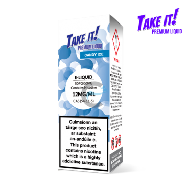 Candy Ice - Take it! 10ml - Premium e liquid in Ireland
