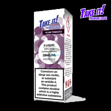 Plum Tobacco - Take it! 10ml - Premium e liquid in Ireland