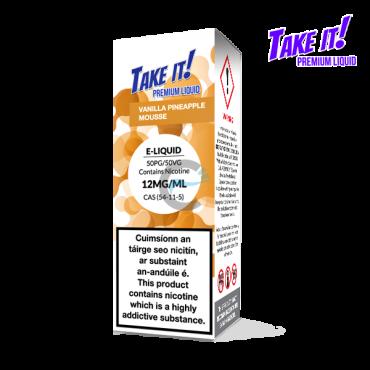 Vanilla Pineapple Mousse - Take it! 10ml - Premium e liquid in Ireland