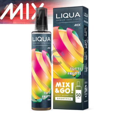 Tutti Frutti - LiQua 50ml Short Fill Mix and Go In Ireland