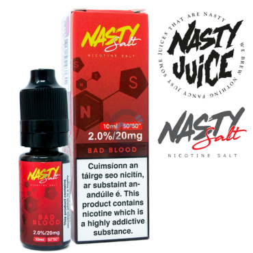 Bad Blood - Nasty Salt Juice 10ml