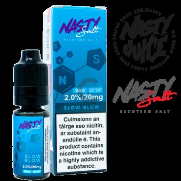Slow Blow - Nasty Salt Juice 10ml