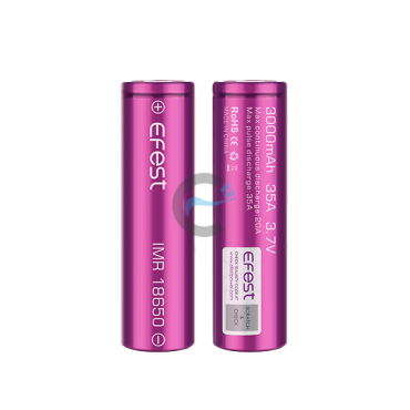 Efest IMR 18650 3000mAh with flat top