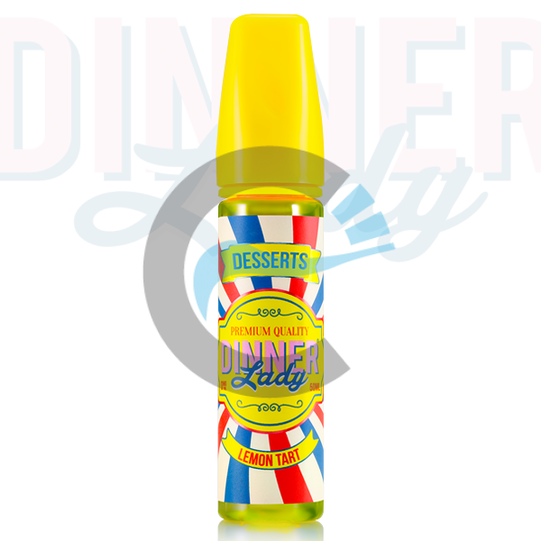 Lemon Tart - Dinner Lady 50ml Shake N' Vape in Ireland
