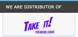 Take it premium vape e liquid Ireland Distributor E Cigarettes World